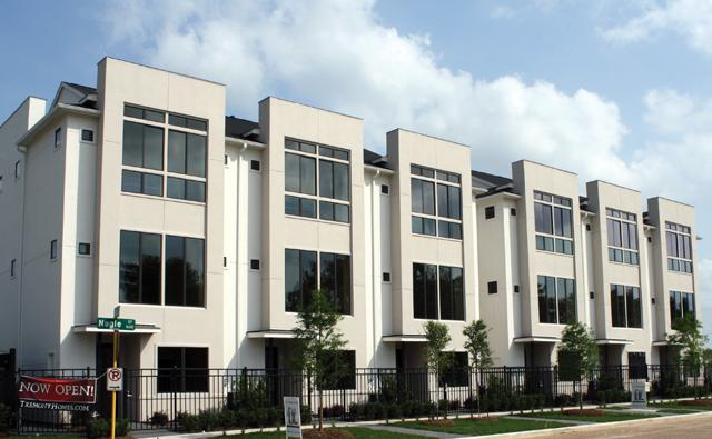 East Downtown Townhomes Houston