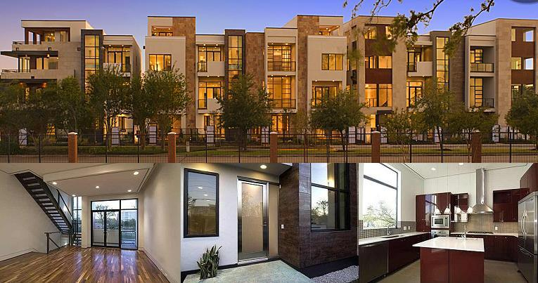 Uptown Galleria Townhomes Houston